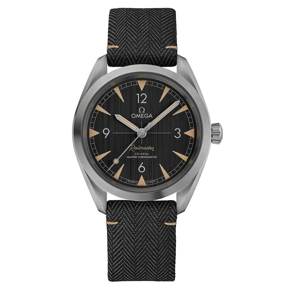 OMEGA Seamaster Railmaster Co-Axial Master Chronometer Automatic Men's Watch