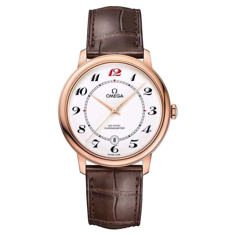 OMEGA De Ville 18ct Rose Gold Prestige Co-Axial Men's Watch