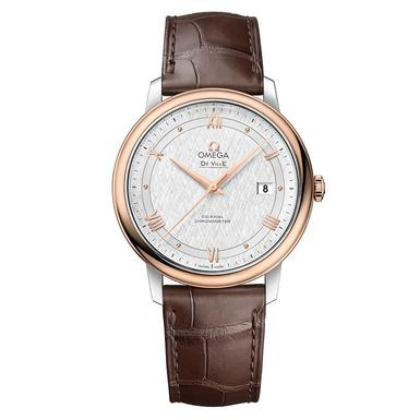 OMEGA De Ville Prestige 18ct Rose Gold Co-Axial Automatic Men's Watch