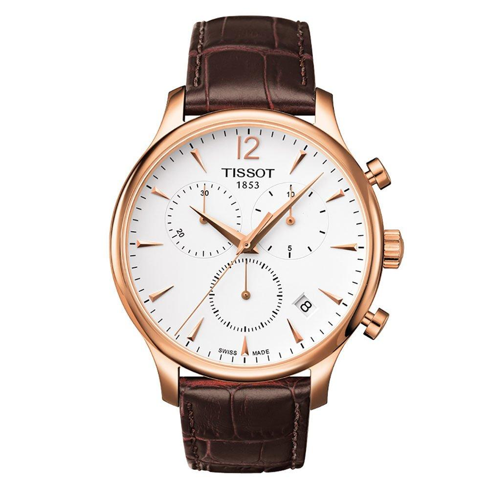 Tissot Tradition Rose Gold Men's Watch