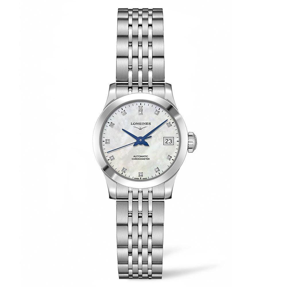 Longines Record Diamond Automatic Ladies Watch