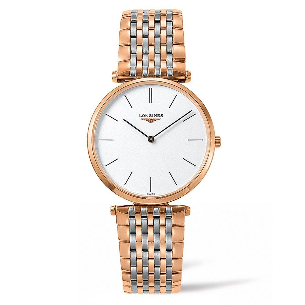 Longines La Grande Classique Rose Gold PVD Plated and Stainless Steel Watch