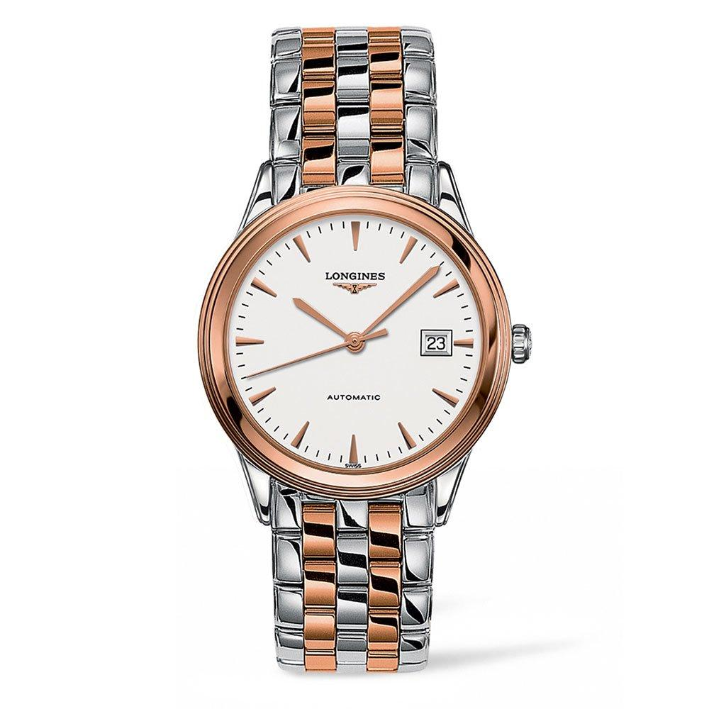Longines Flagship Rose Gold Plated Automatic Ladies Watch