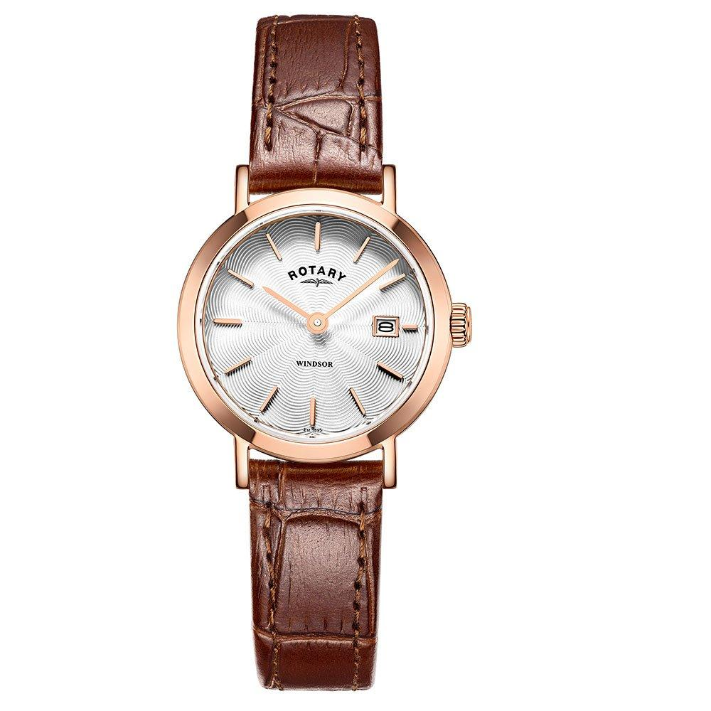 Rotary Windsor Rose Gold Ion Plated Men's Watch