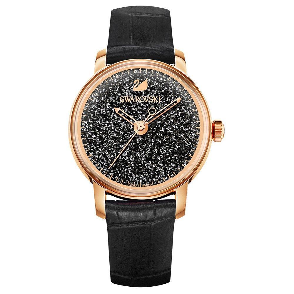 Swarovski Crystal Rose Gold Tone Ladies Watch