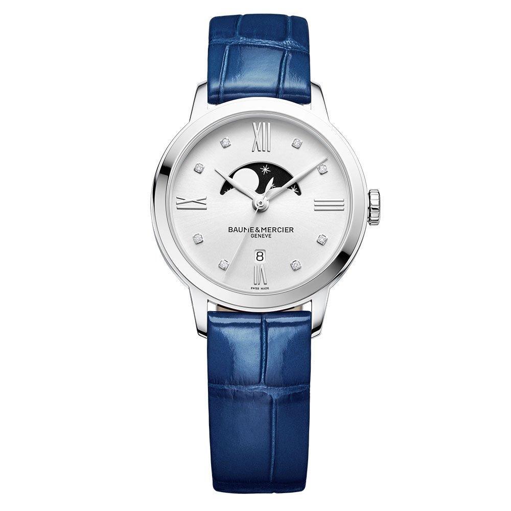 Baume & Mercier Classima Moon Phase Diamond Ladies Watch