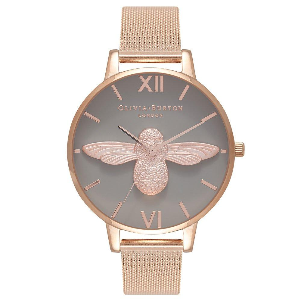 Olivia Burton 3D Bee Rose Gold Tone Ladies Watch