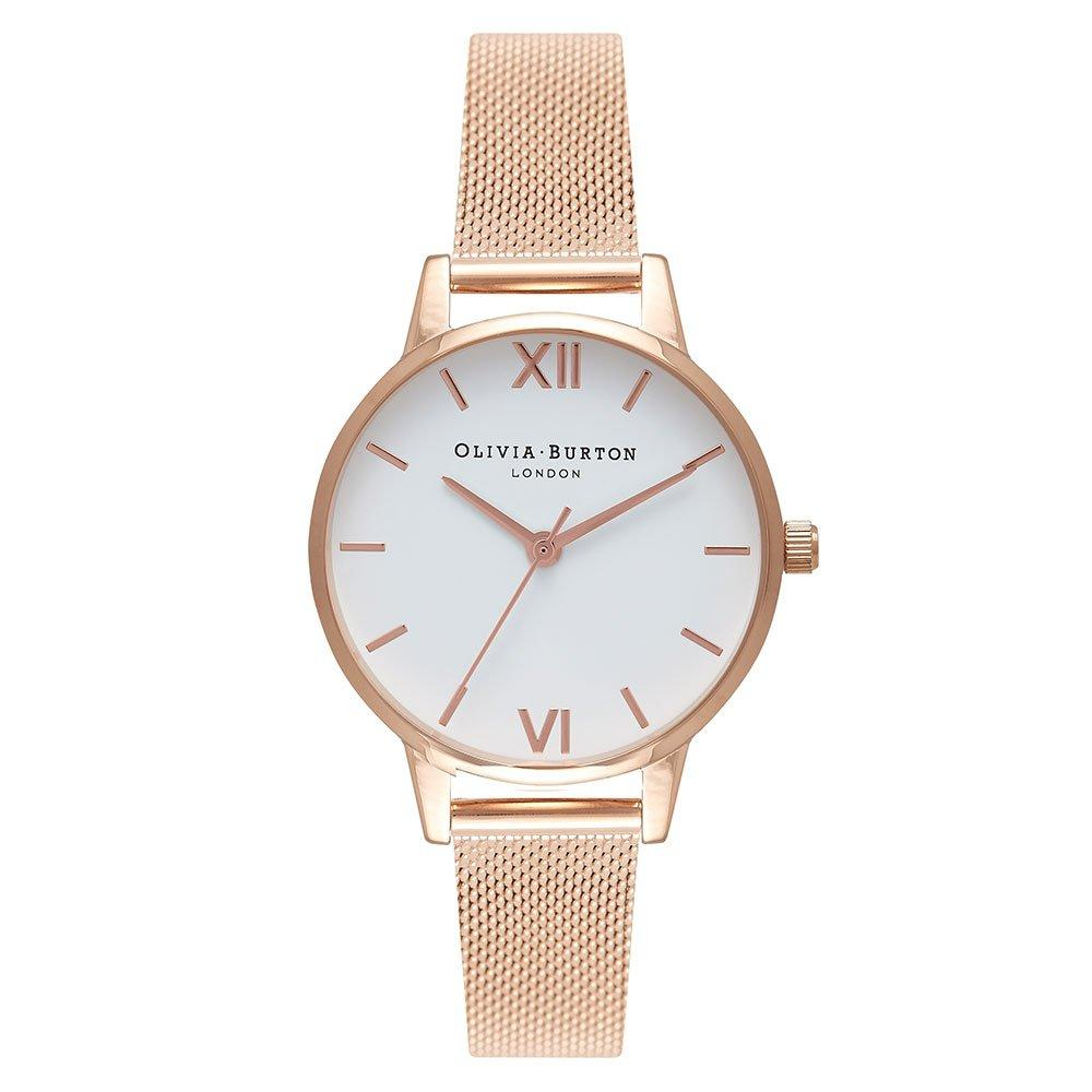 Olivia Burton Rose Gold Plated Mesh Ladies Watch