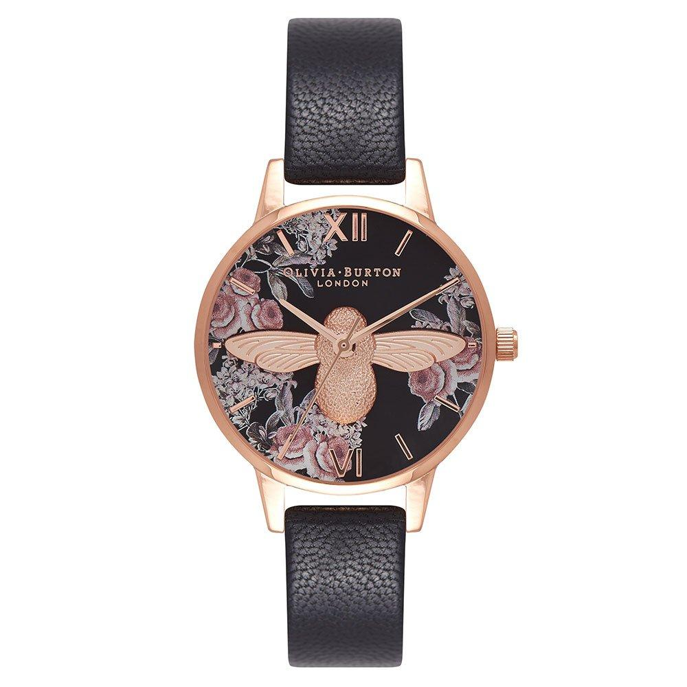 Olivia Burton Botanical 3D Bee Rose Gold Plated Ladies Watch