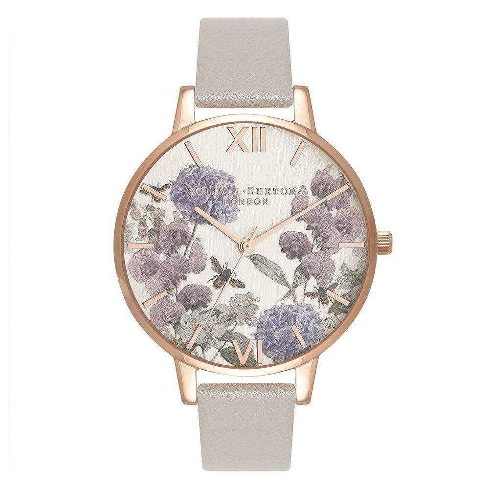 Olivia Burton Parlour Bee Bloom Rose Gold Plated Ladies Watch
