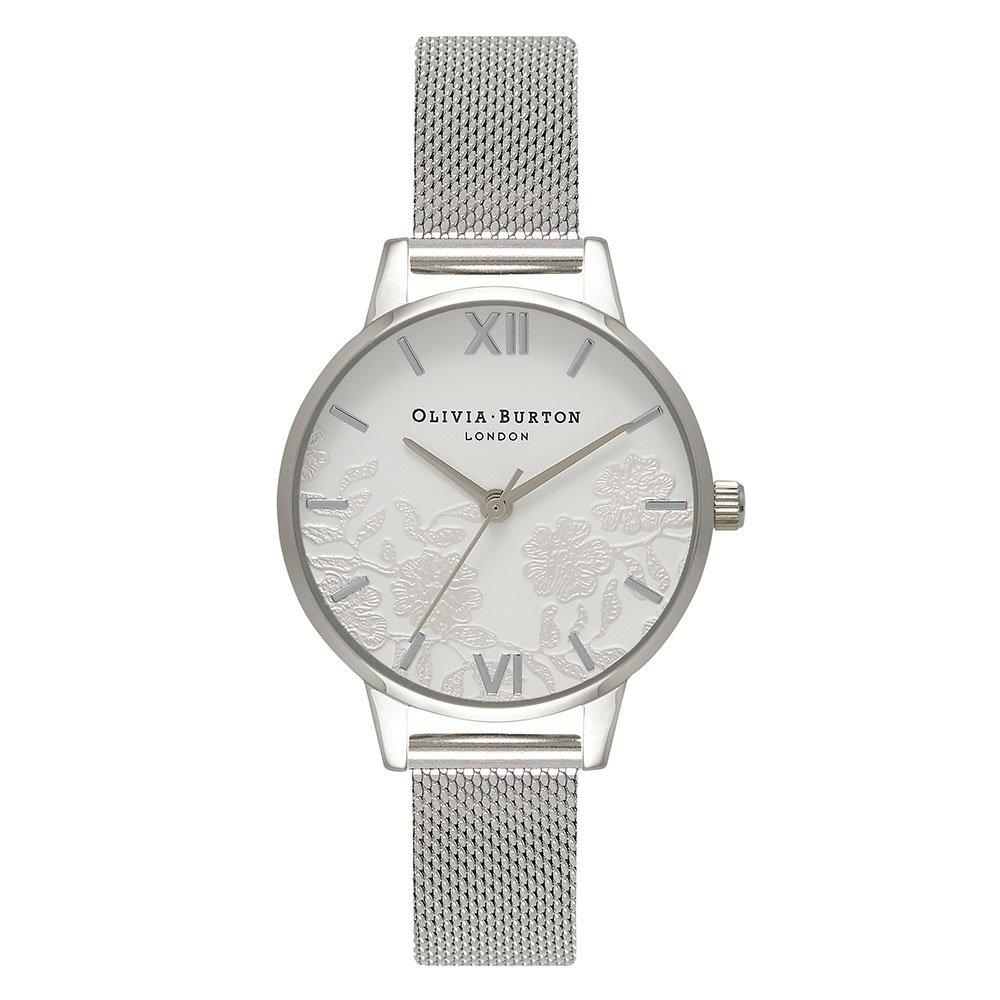 Olivia Burton Lace Detail Mesh Ladies Watch