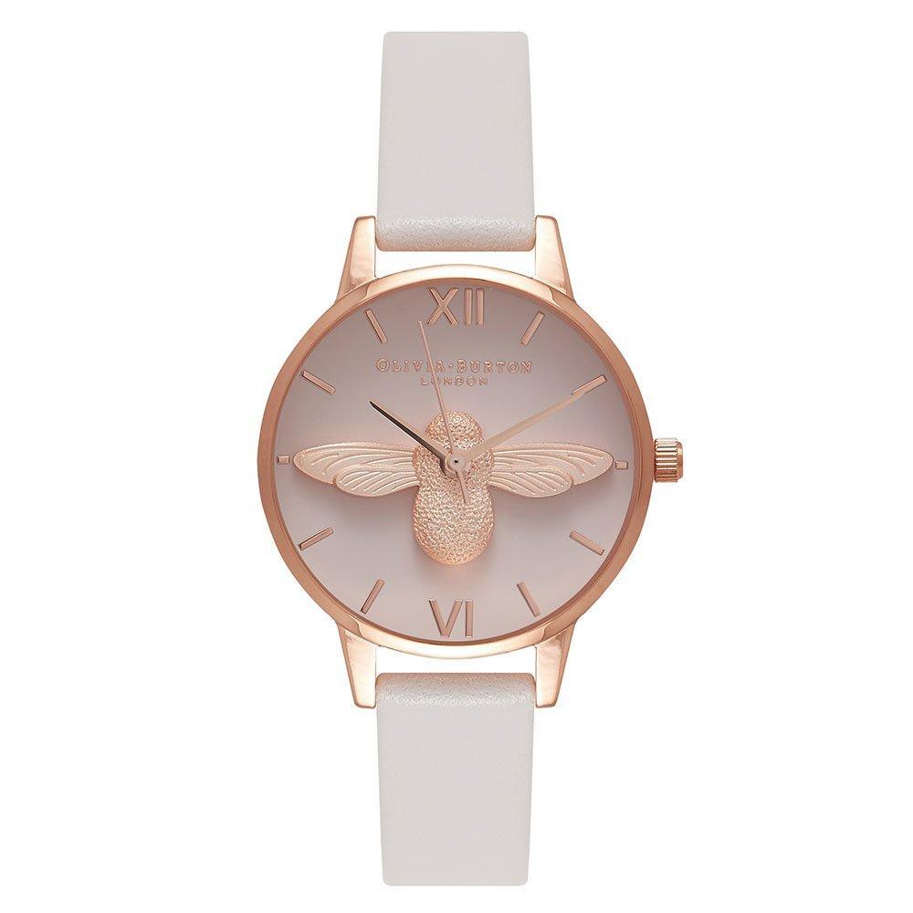 Olivia Burton 3D Bee Rose Gold Plated Ladies Watch