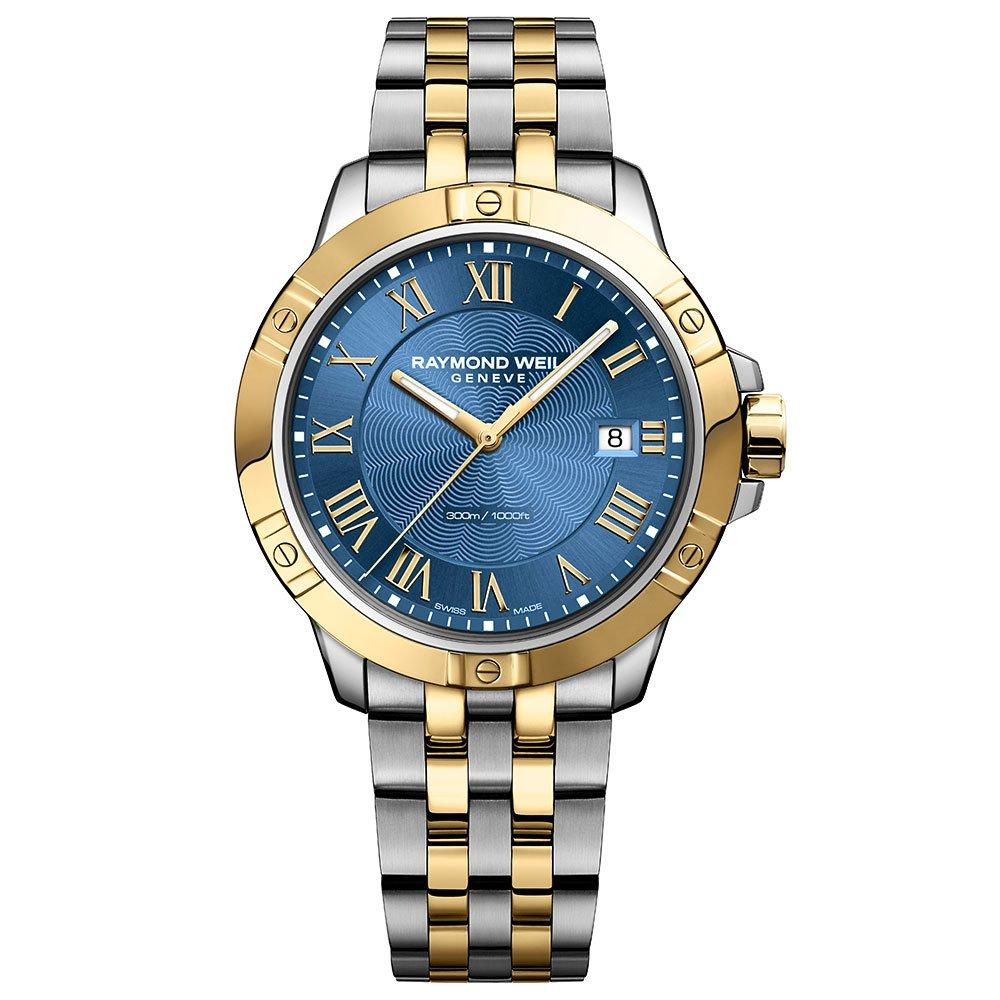 Raymond Weil Tango Gold PVD Plated and Stainless Steel Men's Watch