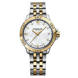 Raymond Weil Tango Gold PVD Plated and Stainless Steel Diamond Ladies Watch