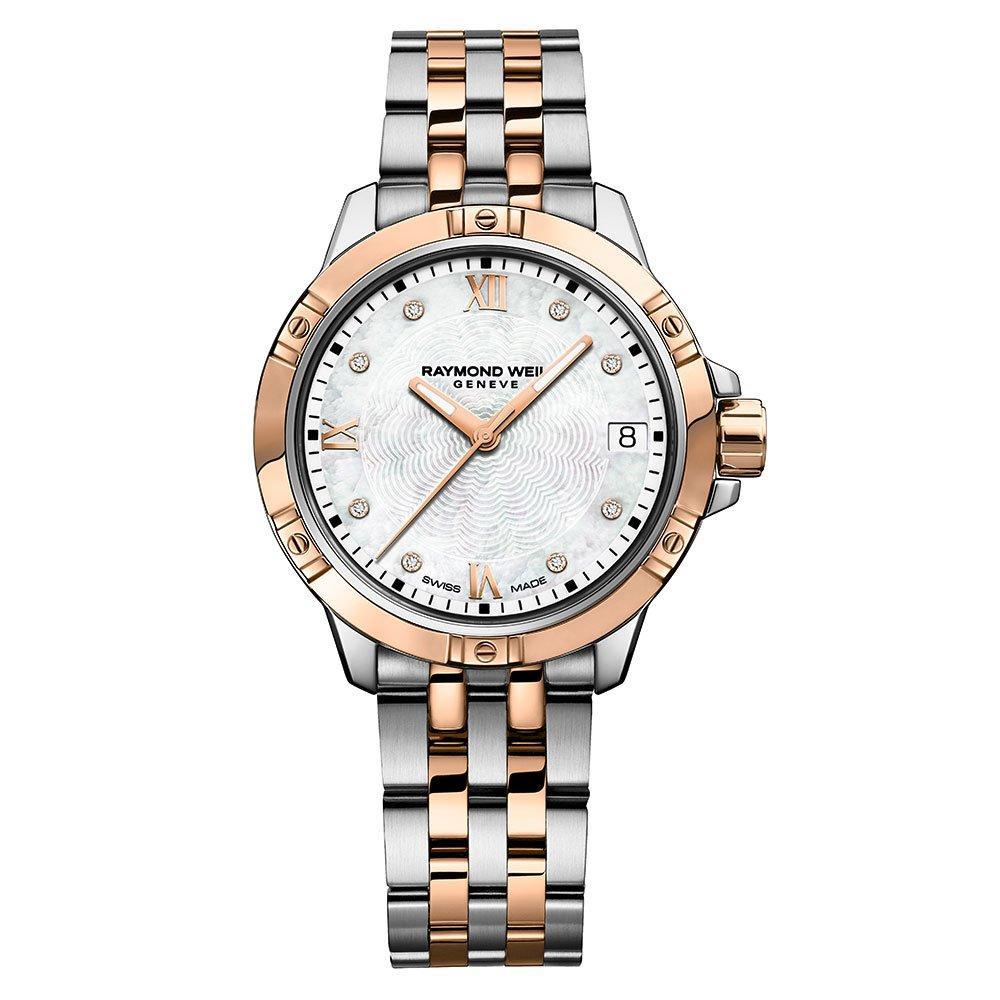Raymond Weil Tango Diamond Rose Gold Plated Ladies Watch