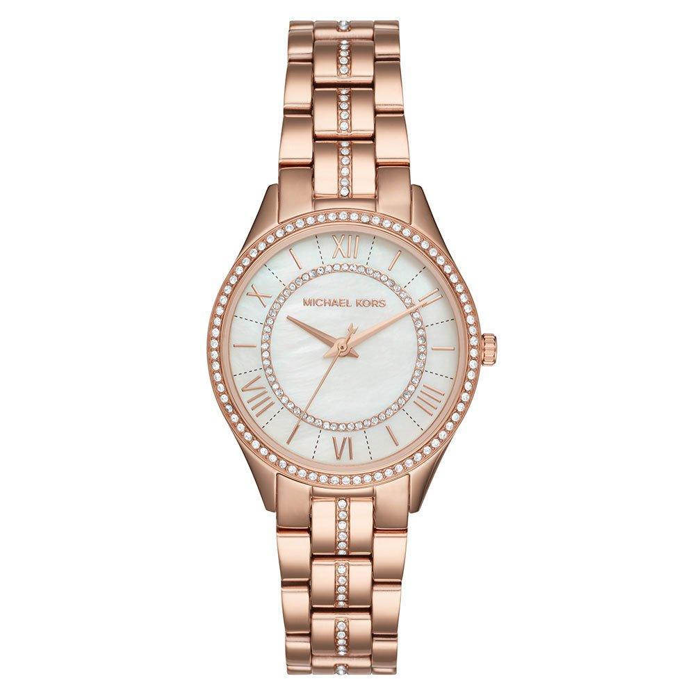 Michael Kors Lauryn Rose Gold Tone Ladies Watch