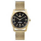 Vivienne Westwood Gold Tone Mesh Men's Watch