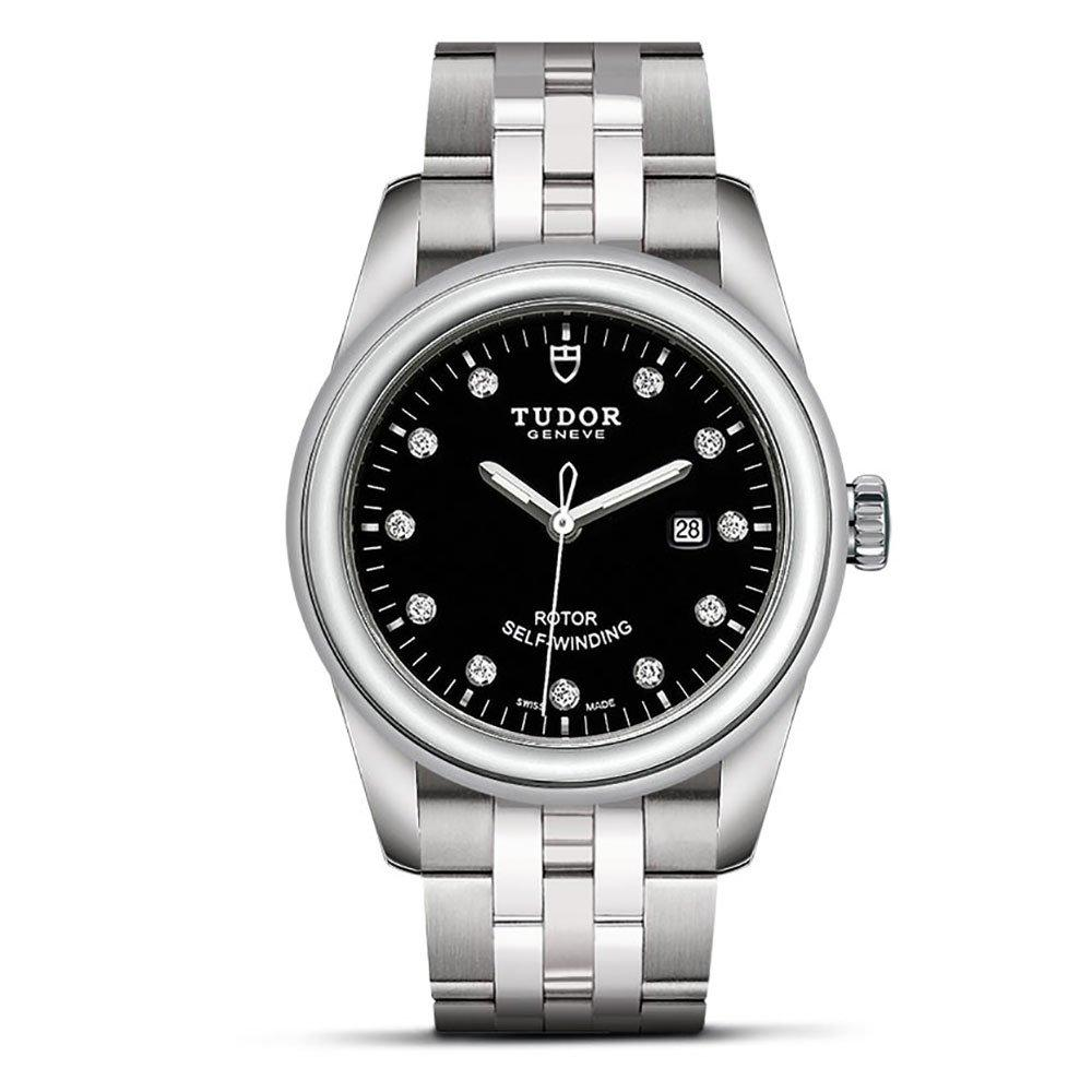 Tudor Glamour Date Diamond Automatic Watch