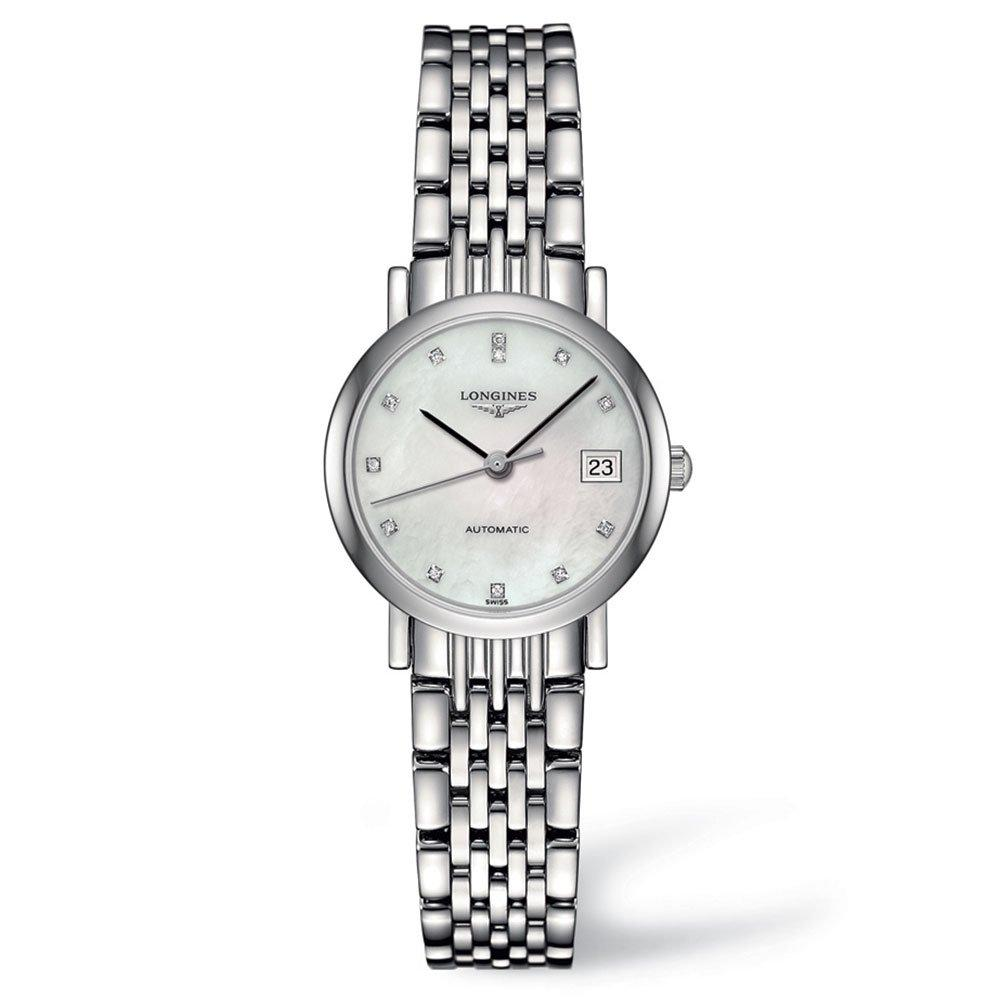 Longines Elegant Diamond Automatic Ladies Watch