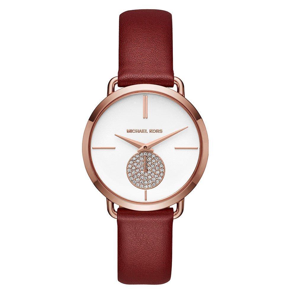 Michael Kors Portia Rose Gold Tone Ladies Watch