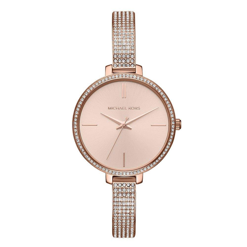 Michael Kors Jaryn Rose Gold Tone Crystal Ladies Watch