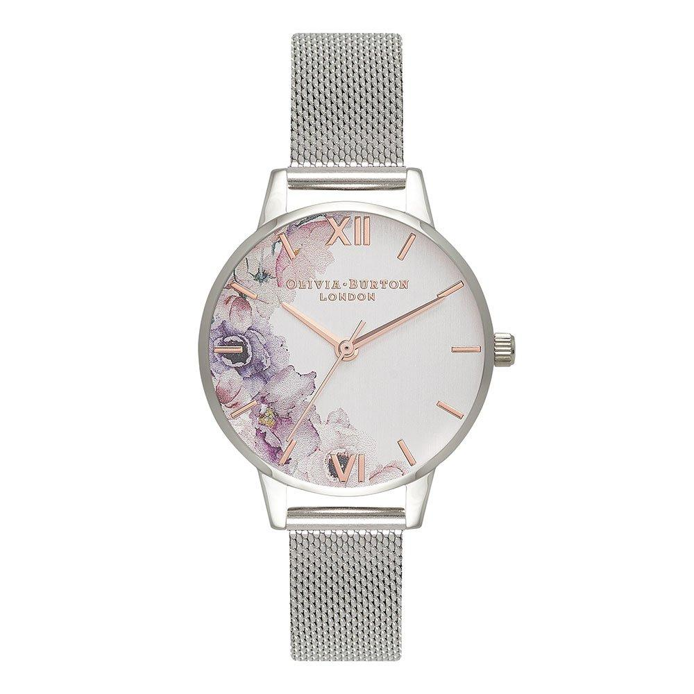Olivia Burton Floral Mesh Ladies Watch
