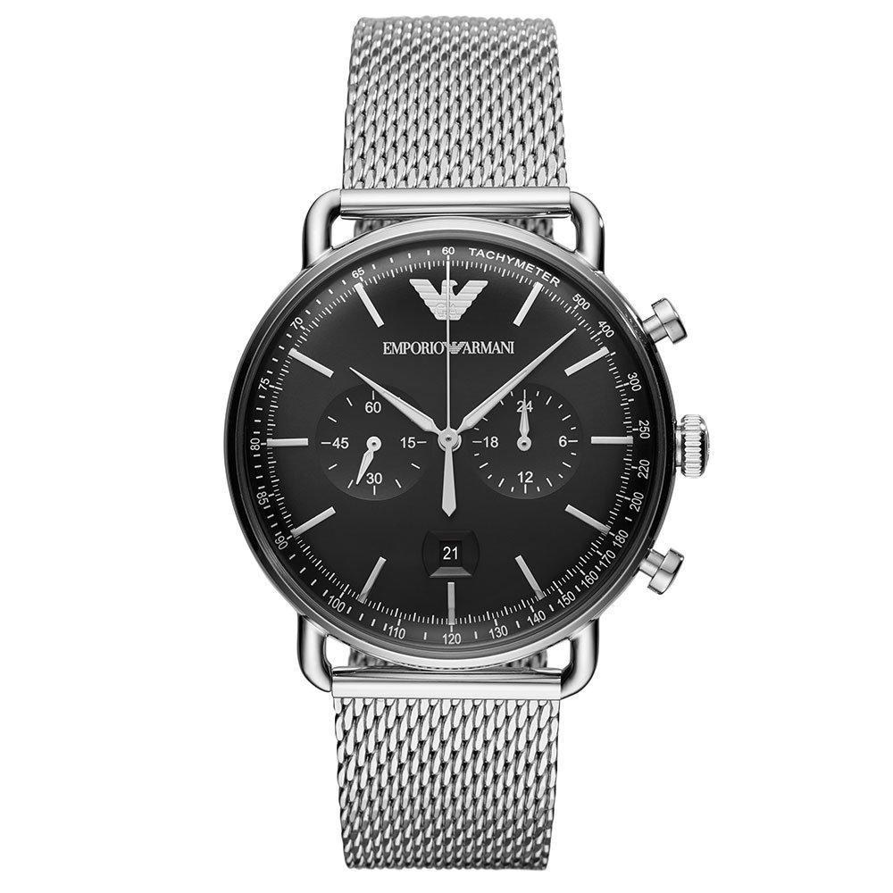 Emporio Armani Chronograph Mesh Men's Watch