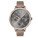 Hugo Boss Symphony Gold Tone Diamond Ladies Watch