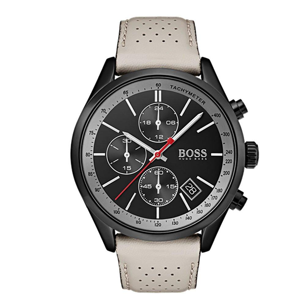 BOSS Grand Prix Black Ion Plated Chronograph Men's Watch