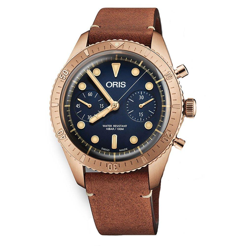 Oris Carl Brashear Bronze Automatic Chronograph Men's Watch