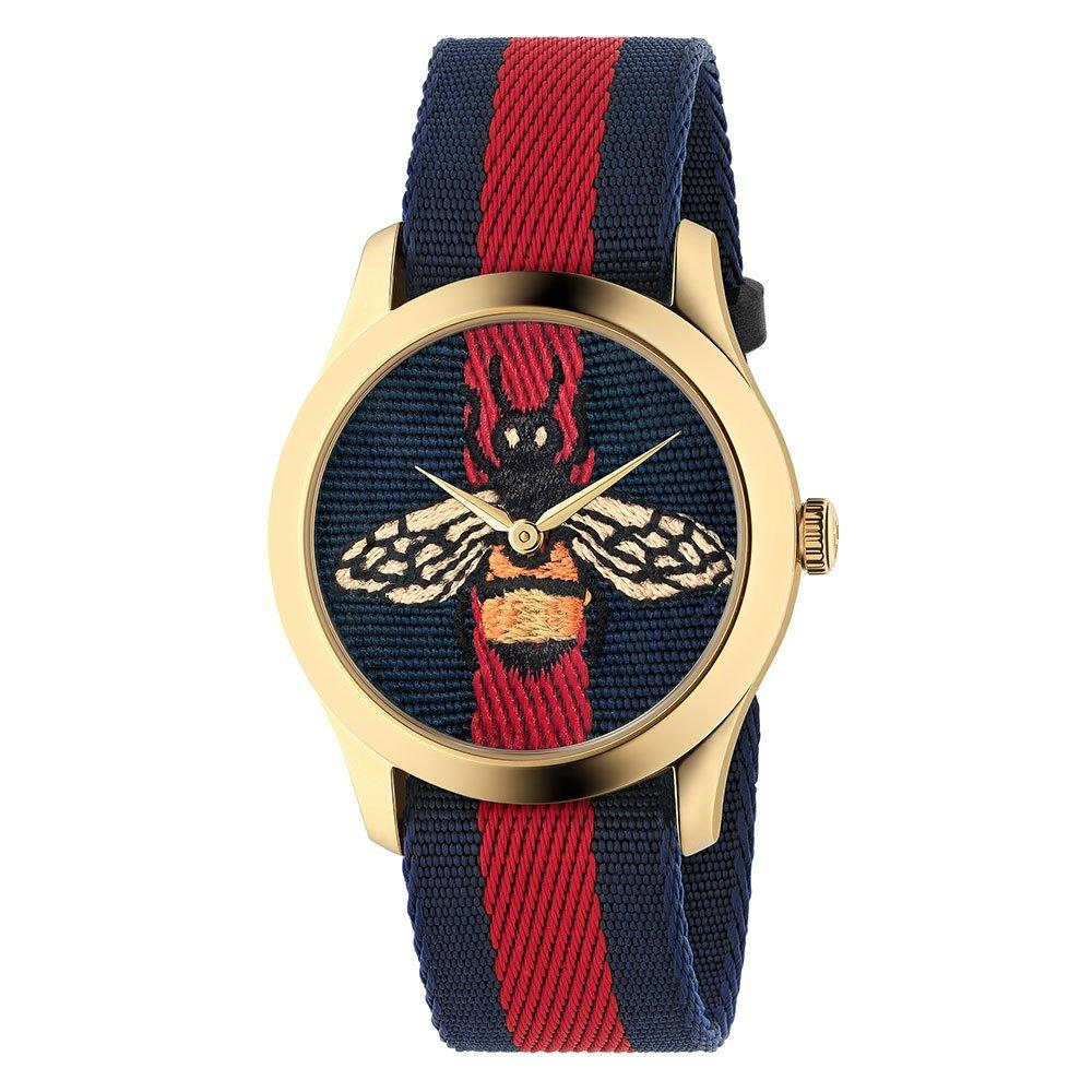 Gucci G-Timeless Gold Tone PVD Watch