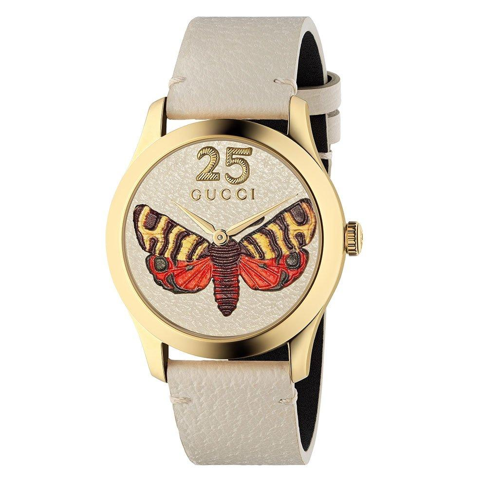 Gucci Timeless Gold Tone PVD Watch