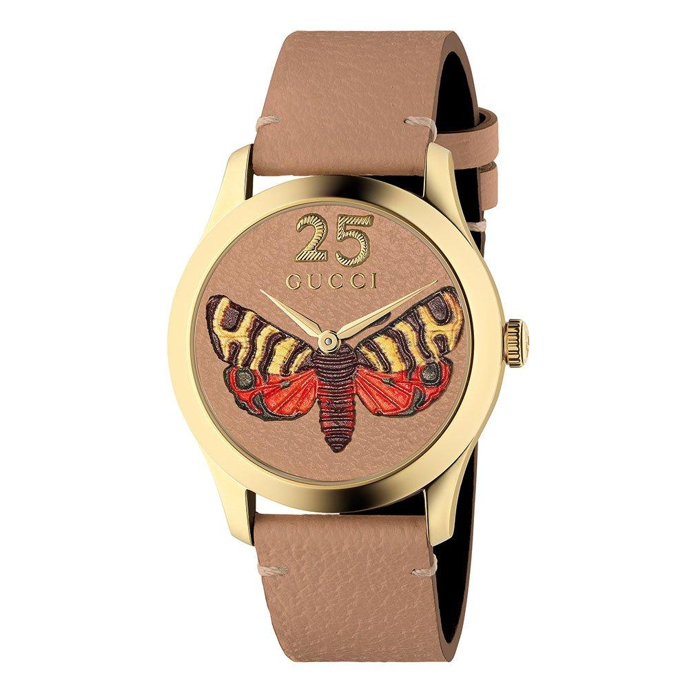 Gucci G-Timeless Cypria Butterfly Gold PVD Watch