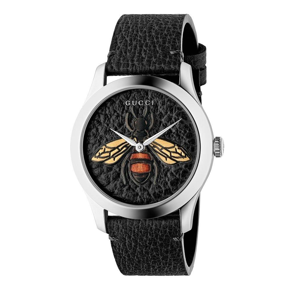 Gucci G-Timeless Black Bee Watch