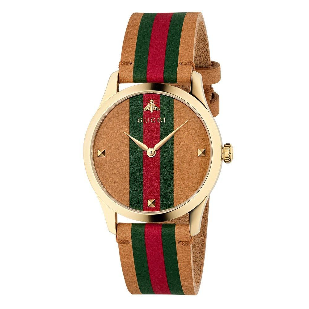 Gucci G-Timeless Gold Tone Watch