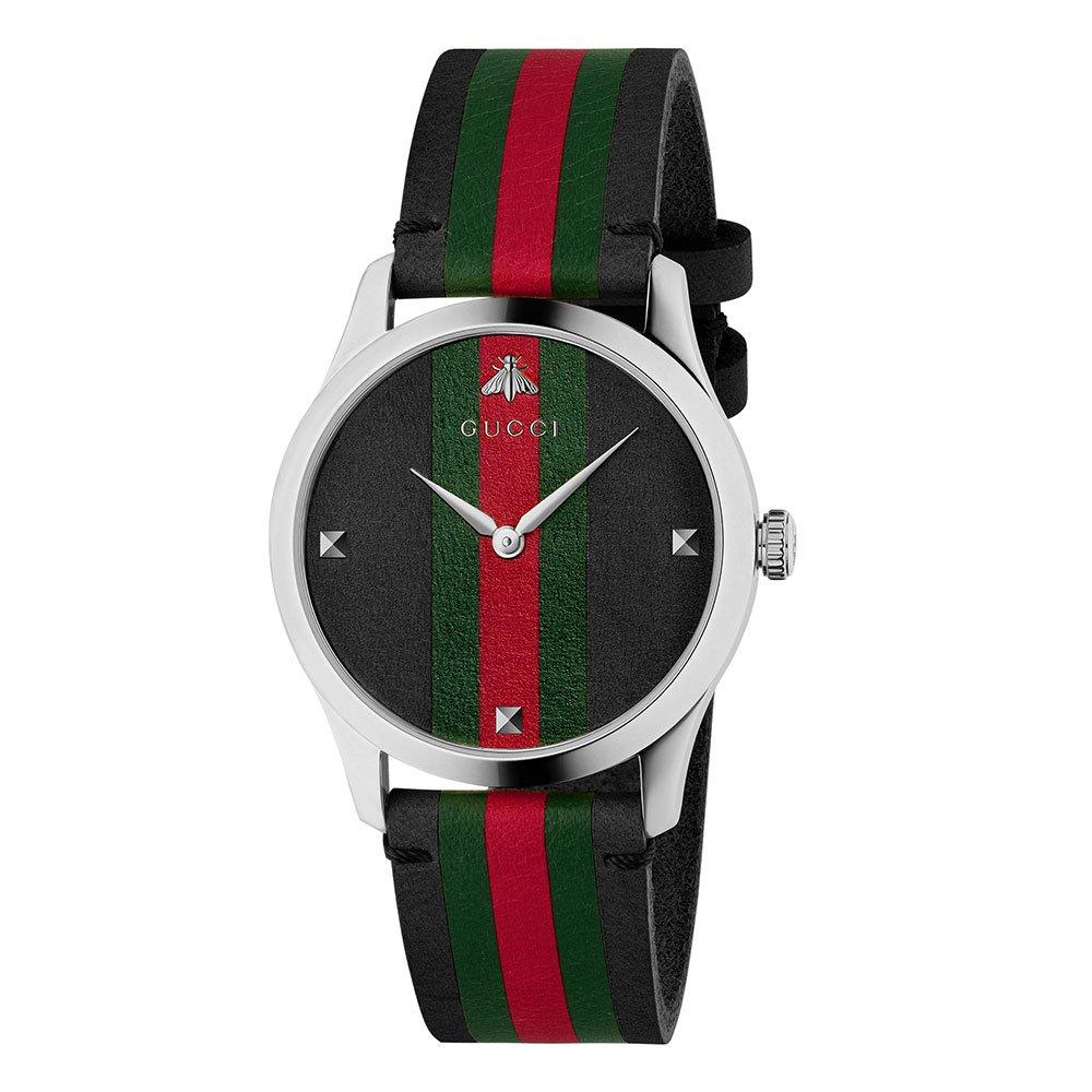 Gucci G-Timeless Stripe Watch