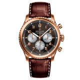 Breitling Navitimer 8 18ct Rose Gold B01 Automatic Chronograph Men's Watch