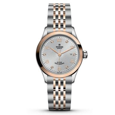 Tudor 1926 Steel and Rose Gold Diamond Date Automatic Ladies Watch