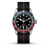 Tudor Black Bay GMT Mechanical Fabric Men's Watch