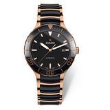 Rado Centrix Black and Rose Gold Ceramic Automatic Men's Watch