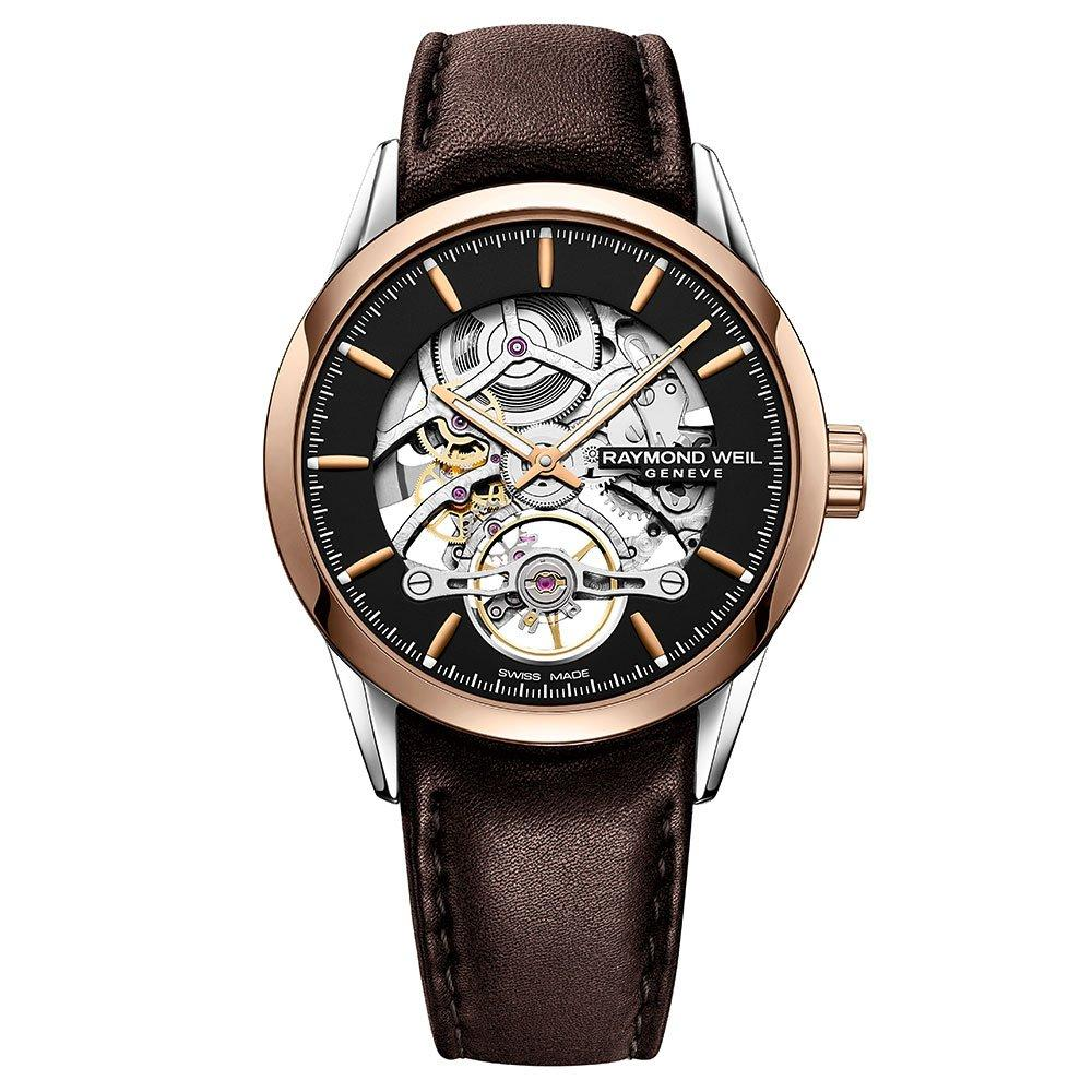 Raymond Weil Freelancer Rose Gold PVD Automatic Men's Watch