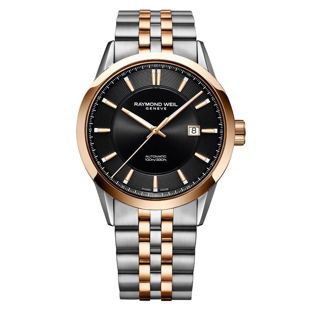 Raymond Weil Freelancer Stainless Steel and Rose Gold PVD Automatic Men's Watch