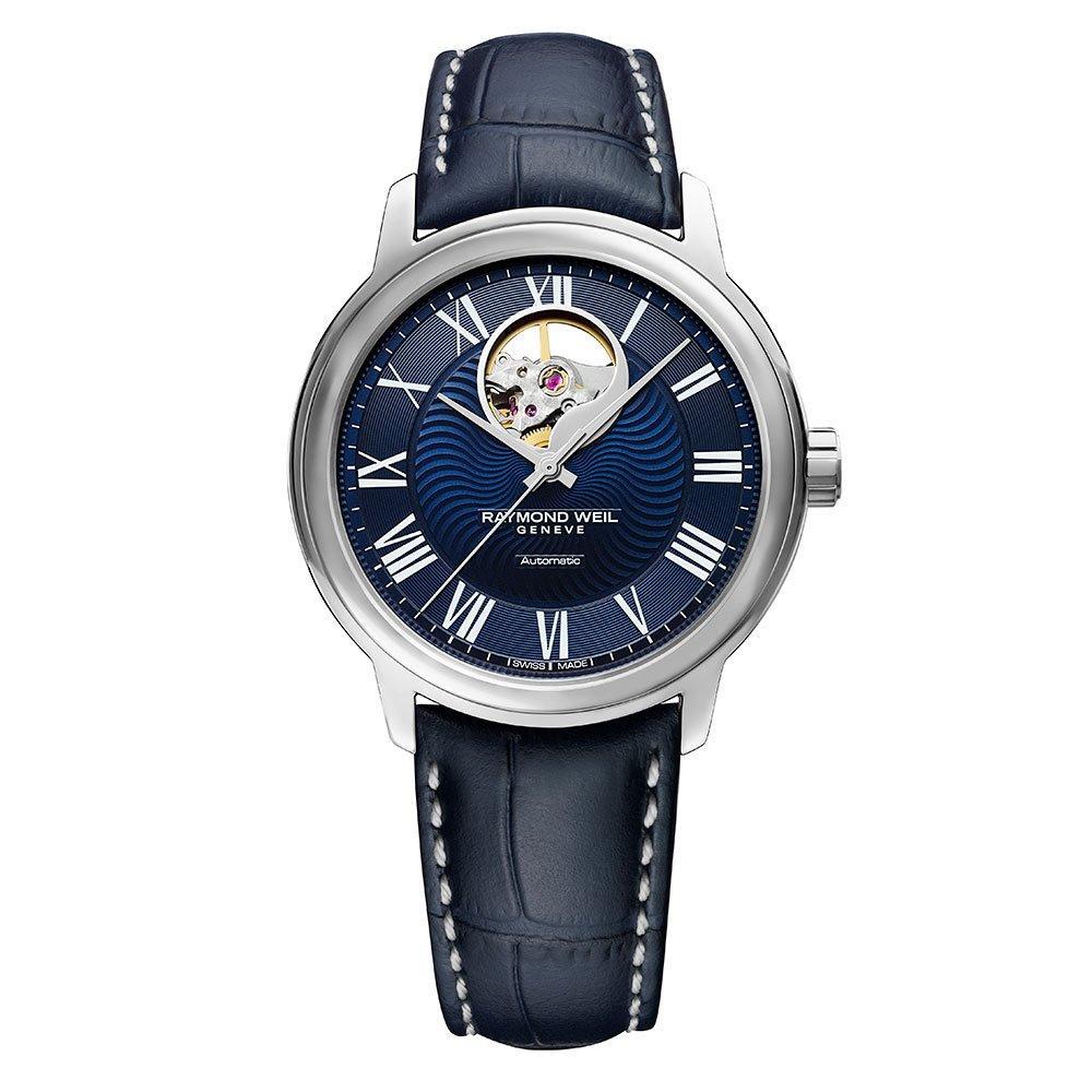 Raymond Weil Maestro Blue Mechanical Men's Watch