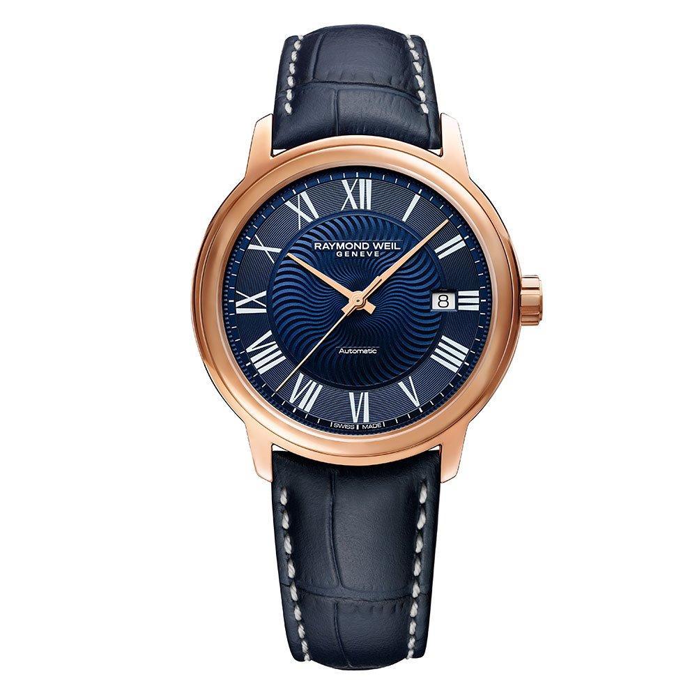 Raymond Weil Maestro Rose Gold Plated Men's Watch