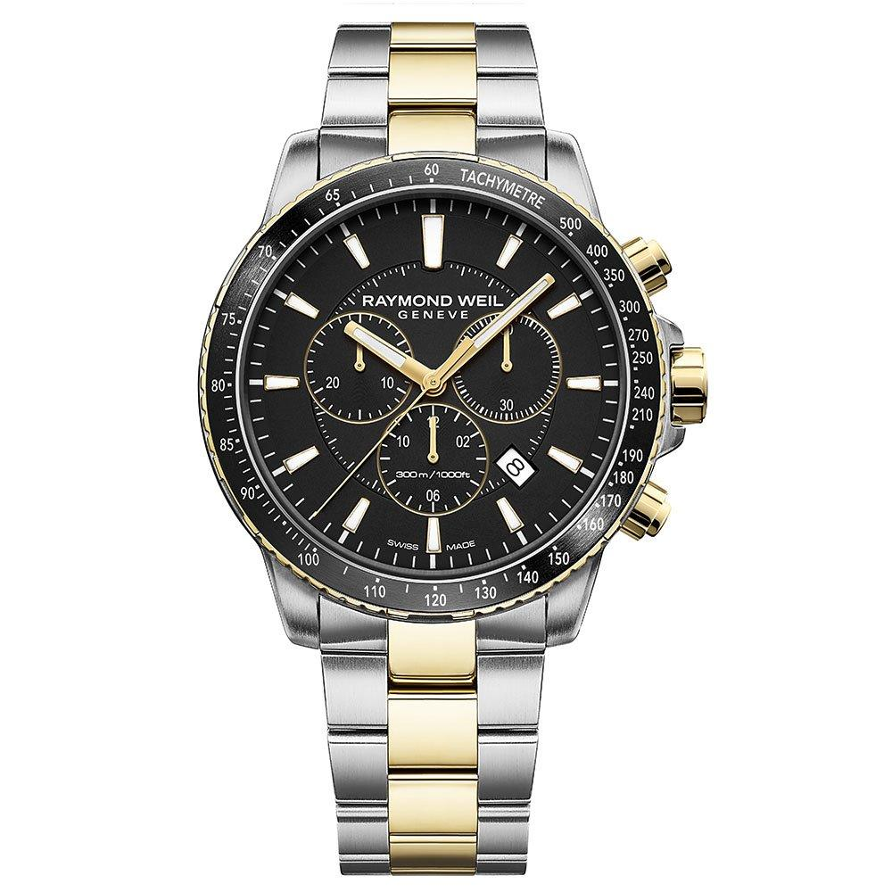 Raymond Weil Tango Steel and PVD Gold Plated Men's Watch