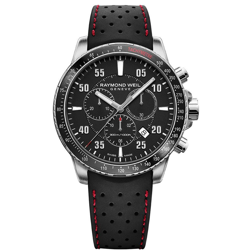 Raymond Weil Tango Steel and Rubber Chronograph Men's Watch