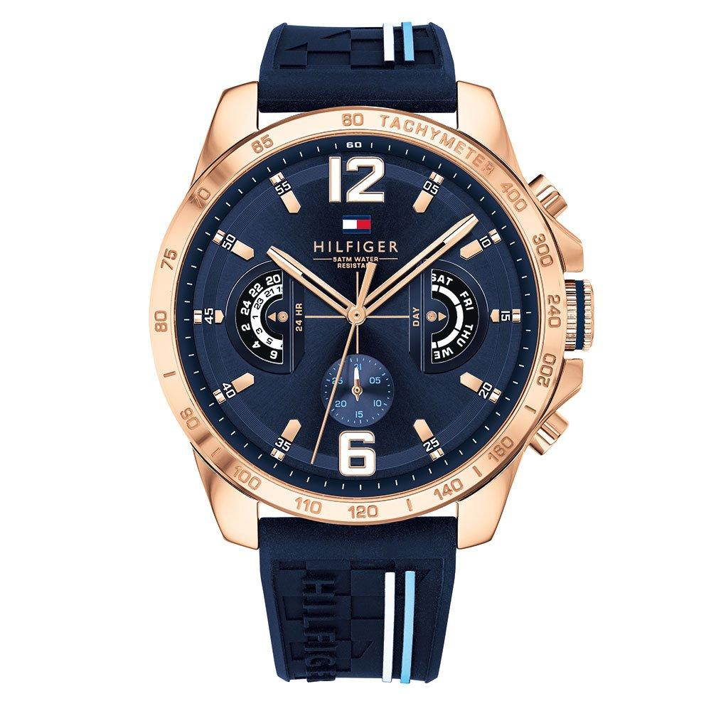 Tommy Hilfiger Rose Gold Tone Chronograph Men's Watch