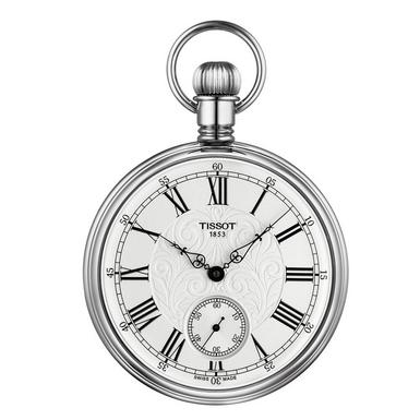 Tissot Lepine Palladium Plated Mechanical Pocket Watch