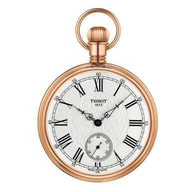 Tissot Lepine Rose Gold Tone Mechanical Pocket Watch