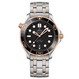 OMEGA Seamaster Diver 300m Steel and 18ct Sedna Gold Automatic Men's Watch